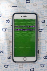 iOS green screen of death